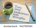 turn your weaknesses into