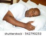 portrait of a man getting a... | Shutterstock . vector #542790253