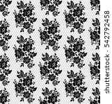 oriental vector pattern with... | Shutterstock .eps vector #542792458