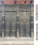 Exterior Wood Carving And Door...