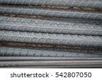 reinforcing steel bars for... | Shutterstock . vector #542807050