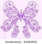 Doodle Henna Sketch Groovy...