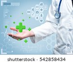 healthcare and medical concept  ... | Shutterstock . vector #542858434