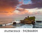 the pilgrimage temple of pura... | Shutterstock . vector #542866804