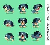 cartoon character tibetan... | Shutterstock .eps vector #542881960