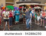 florence  italy june 11  2015.... | Shutterstock . vector #542886250