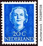 netherlands   circa 1949  a... | Shutterstock . vector #542889538