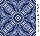vector seamless pattern ... | Shutterstock .eps vector #542890420