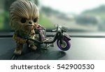 Isolated Toys Chewbacca And...