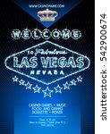 vector flyer for party in... | Shutterstock .eps vector #542900674