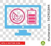 vector radar battery control...   Shutterstock .eps vector #542901844