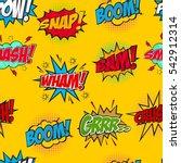 Set Of Comic Text  Pop Art...