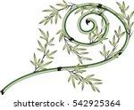 bamboo | Shutterstock .eps vector #542925364