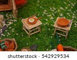 small tiny camping toy  ...   Shutterstock . vector #542929534