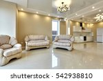 kitchen living room | Shutterstock . vector #542938810