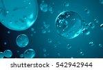 3d render of computer generated ... | Shutterstock . vector #542942944