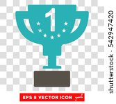 vector first prize eps vector... | Shutterstock .eps vector #542947420