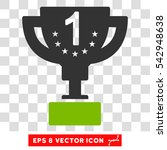 vector first prize eps vector... | Shutterstock .eps vector #542948638