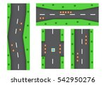 racing game background and... | Shutterstock .eps vector #542950276