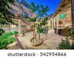 komiza  vis   croatia   aug 15  ... | Shutterstock . vector #542954866