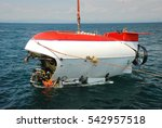 submarine researching waters | Shutterstock . vector #542957518
