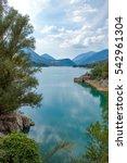 Small photo of Italy, the Barrea lake in Abruzzi's National Park
