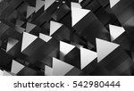 3d abstract background made of... | Shutterstock . vector #542980444