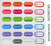 set of colored web buttons.... | Shutterstock .eps vector #542983783