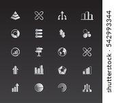 set of infographics elements.... | Shutterstock .eps vector #542993344