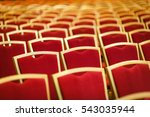 conference hall. chairs | Shutterstock . vector #543035944