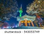 scenic most beautiful night on...   Shutterstock . vector #543053749