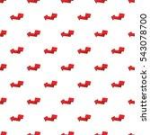 arrow points to left pattern.... | Shutterstock .eps vector #543078700