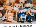 traditional souvenirs ethnic... | Shutterstock . vector #543106888