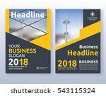 multipurpose corporate business ... | Shutterstock .eps vector #543115324