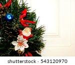 christmas wreath   Shutterstock . vector #543120970