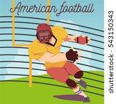 Vector Illustration Of American ...