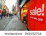 nottingham  england   december... | Shutterstock . vector #543152716