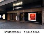 nottingham  england   december... | Shutterstock . vector #543155266