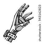 hand drawn vector illustration...   Shutterstock .eps vector #543162823