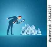 business concept vector... | Shutterstock .eps vector #543183199
