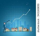 business concept vector... | Shutterstock .eps vector #543183850