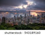 cityscape in downtown of top...   Shutterstock . vector #543189160