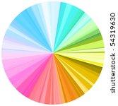 color palette  no transparency    Shutterstock .eps vector #54319630