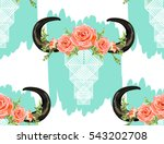 Beautiful Vector Pattern With...