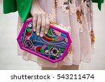 paris july 6  2016. street... | Shutterstock . vector #543211474