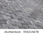 the roof shingles as a... | Shutterstock . vector #543214678