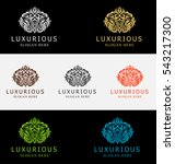 luxurious crest logo | Shutterstock .eps vector #543217300