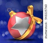 3d illustration of christmass... | Shutterstock . vector #543225760