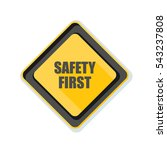 Safety First Illustration