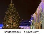 Christmas Tree And Decoration...